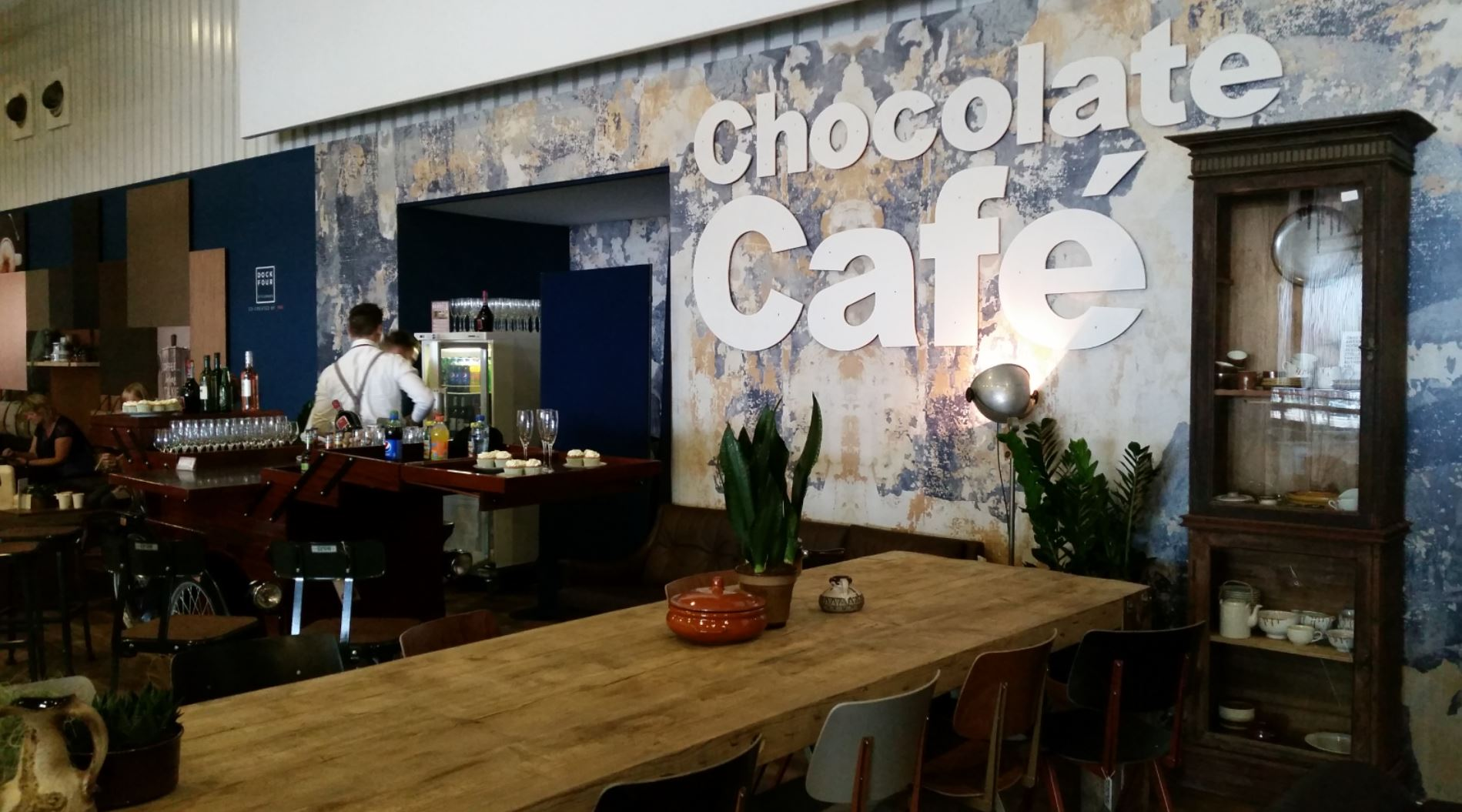 VTWEDbeurs 2015 - Meerwinkel in Chocolate cafe